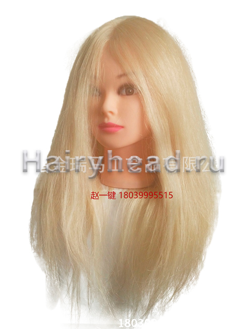Кукла с белыми волосами «Дарья» 80% натуральных