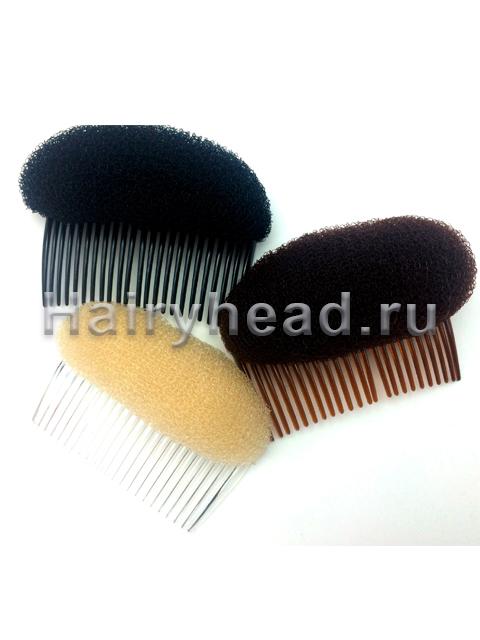 Валик с гребнем для волос