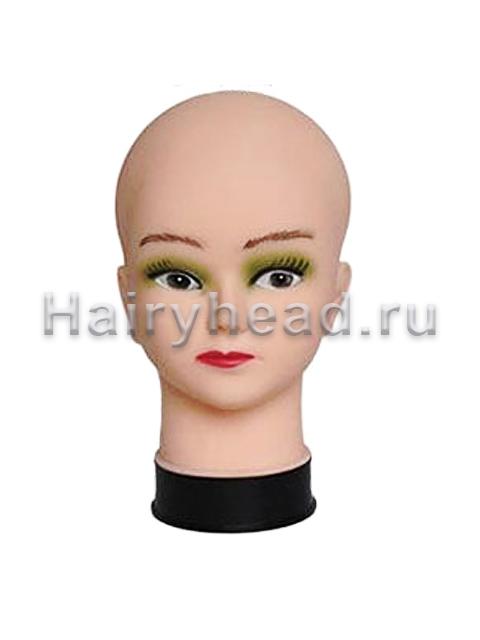 Голова без волос женская