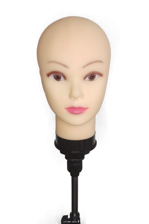 Голова манекен лысая 55см